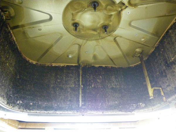 業務用エアコン分解洗浄の前