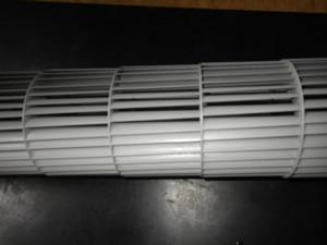 富士通ゼネラルの熱交換機を洗浄した所
